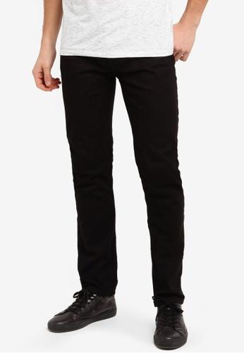 Burton Menswear London 黑色 Slim Black Jeans 976AFAA5FFD21AGS_1