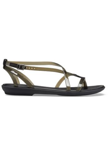 Crocs black Women's Crocs Isabella Gladiator Sandal Blk/Blk FBCB9SH4A206C5GS_1