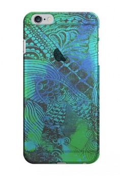 Surreal in Transparent Hard Case for iPhone 6