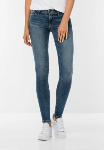 Levi's blue 711 Skinny Jeans LE843AA0F0Q4SG_1