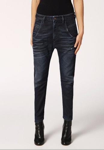 Diesel blue Fayza-Ne Boyfriend Fit Jeans DI095AA0GYOASG_1