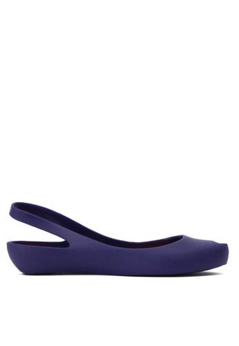 Twenty Eight Shoes 藍色 果凍後抽帶雨鞋及沙灘涼鞋 VRA888 60DACSHF8130DCGS_1