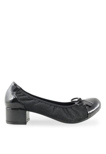 Footspot black FOOTSPOT - Heels with Patent Cap Toe FO296SH2VITIHK_1
