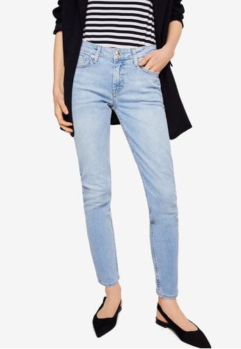 Mango blue Olivia Organic Cotton Skinny Jeans D1346AAEFDE863GS_1