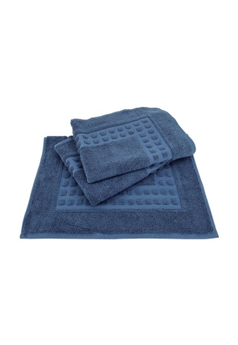 Martex Bundle OF 3 Martex Cordia 100% Cotton Terry Bath Mat (50x80cm/ 320g). FEEDDHLBF70393GS_1