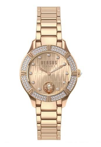 Versus gold Canton Road VES26060017 IP Rose Gold Bracelet Ladies Watch VE464AC0RJ3HMY_1