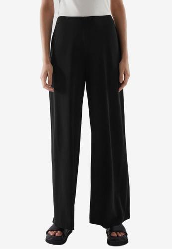 COS black Elasticated Pants 79FBDAAF8D90E2GS_1