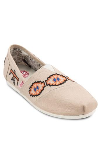 Binesi 幾何圖形懶人鞋, 鞋, 懶人esprit台北門市鞋