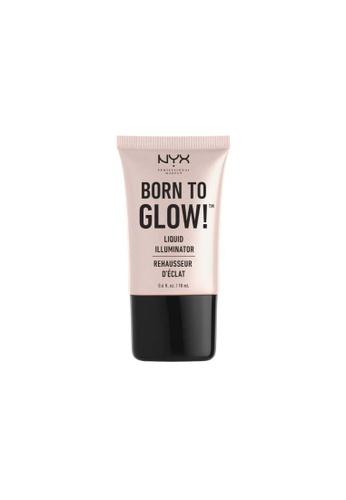 NYX Professional Makeup beige NYX Professional Makeup Born to Glow Liquid Illuminator - SUNBEAM 23F4CBE9B046DFGS_1