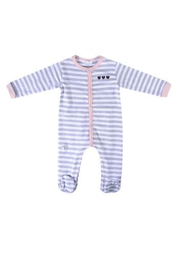 Babybol grey Long Sleeve Romper FD4F2KAAF629C3GS_1