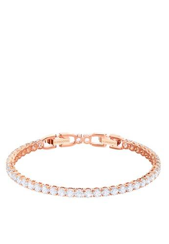 SWAROVSKI gold Tennis Soft Bracelet 8713AACF21C33EGS_1