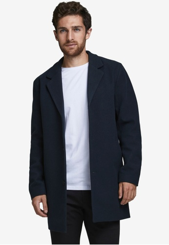 Produkt navy Liam Tailored Coat 84F99AAB1CF702GS_1