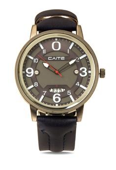 Fashion Leather Analog Watch M-802