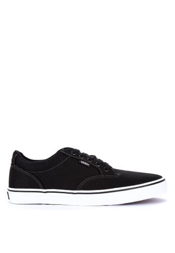 VANS black Canvas Winston Sneakers C144DSHB935949GS_1