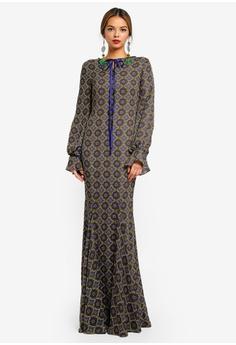 dc040d6c4e285 Syomirizwa Gupta for ZALORA multi VEGA Dress D11A3AA06D0BA8GS_1