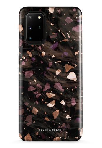 Polar Polar brown Eminence Terrazzo Gem Dual-Layer Tough Case Glossy For Samsung Galaxy S20 Plus 5G D16AFAC6FC9B51GS_1