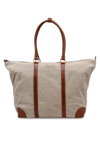 agnès b. beige Top-Handle Bag 1360EAC5845049GS_1