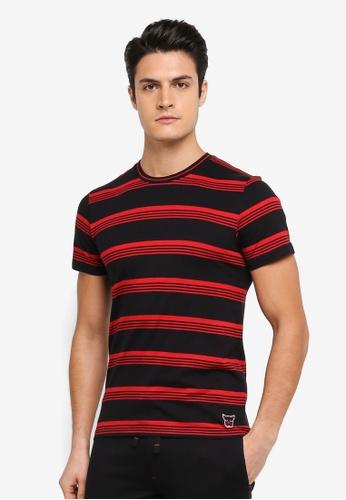 ESPRIT black Short Sleeve T-Shirt ES374AA0T18WMY_1
