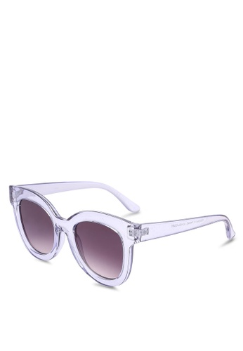 Rubi blue Celena D Frame Sunglasses C2A56GL4894B8FGS_1