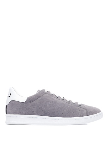 Life8 grey Men and women casual Sneakers -09665-Deep Grey LI283SH0FUAUSG_1