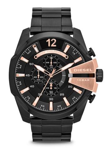 Diesel black Diesel Mega Chief Black Stainless Steel Watch DZ4309 DI095AC88NKXMY_1
