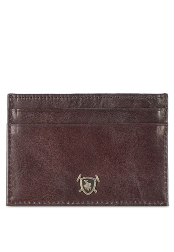 Swiss Polo purple Swiss Polo Card Holder SW912AC42MAFMY_1
