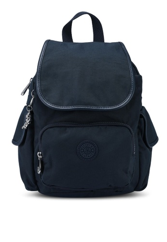 Kipling blue and navy City Pack Mini Backpack A69E2AC09E5D90GS_1