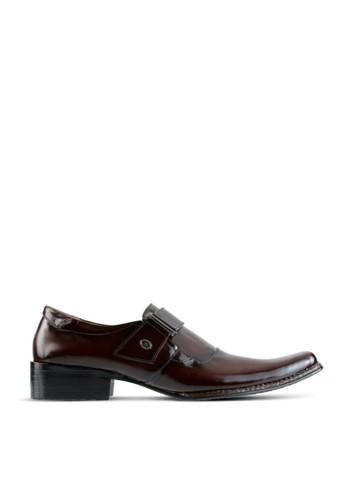 Sogno brown Men Formal Shoes GF.0603 23BA8SH6C758F5GS_1