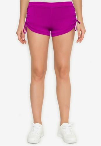 ESKA Dance Wear purple Basic Banded Booty Shorts 2C5ABAA36705C6GS_1