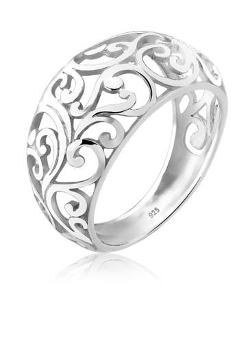 Elli Germany silver Perhiasan Wanita Perak Asli - Silver Cincin Ornament 8F2BAAC6AD39DDGS_1