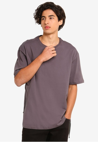 Flesh Imp 灰色 品牌刺繡T恤 279A5AA50CE47EGS_1