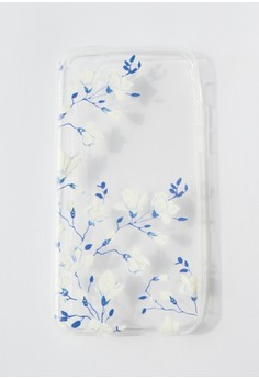 Flower Vine Soft Transparent Case for iPhone 6/6s