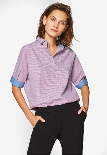 542cb3fa55fdf Buy ESPRIT Woven Half Sleeve Blouse Online on ZALORA Singapore