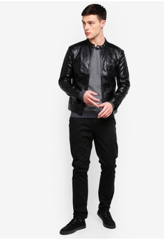 7358556cc6 30% OFF High Cultured Biker Jacket-73 RM 179.90 NOW RM 126.00 Sizes L XL