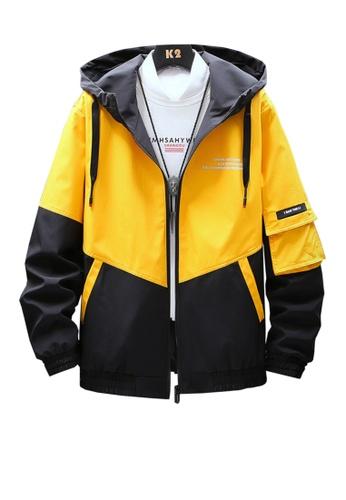 Twenty Eight Shoes yellow VANSA  Fashion Hooded Coat VCM-C001 308DDAADC2FA8BGS_1
