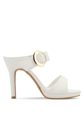 VINCCI white Slide On Heels VI831SH0SY53MY_1