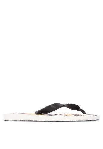 Dupe white Selecoes Germany Sandals & Flip Flops 5D983SHDEC1FD3GS_1