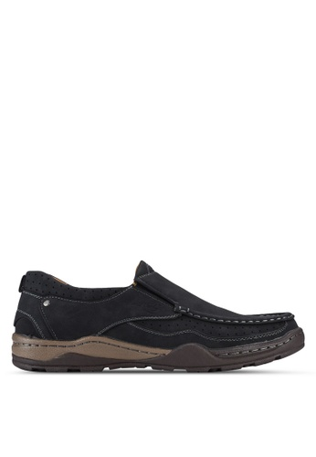 Louis Cuppers black Casual Moccasins LO977SH26AXHMY_1