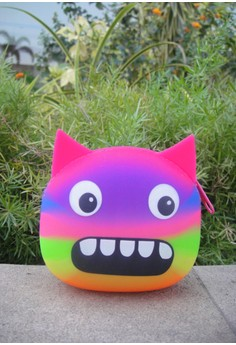 Silicon Multi Color Monster Coin Purse