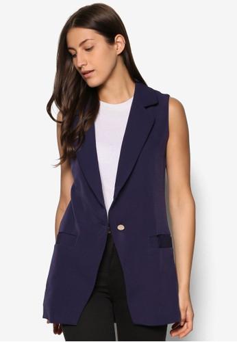 長版西裝無esprit高雄門市袖外套, 服飾, 外套