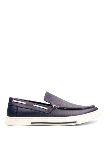 Kenneth Cole New York navy ANKIR SLIP ON B - Boat Shoes D8FEDSHB3412EBGS_1