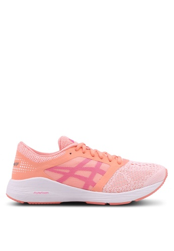 Asics pink Roadhawk FF Shoes AS989SH0SVS1MY_1
