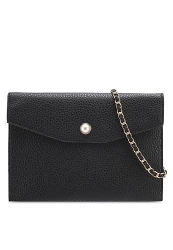 Dorothy Perkins black Black Stud Pocket Clutch 09E66AC1A20778GS_1