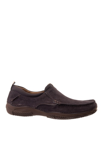 Hush Puppies brown Hush Puppies Men's Norman Loafer - Dark Brown 502F6SHD656B2DGS_1