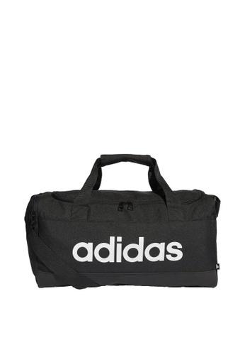 ADIDAS black essentials logo duffel bag extra small 662F4AC5A5608EGS_1