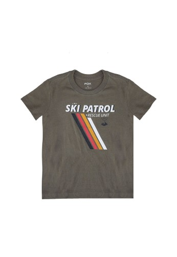FOX Kids & Baby green Graphic T-Shirt 365F2KAFE71681GS_1