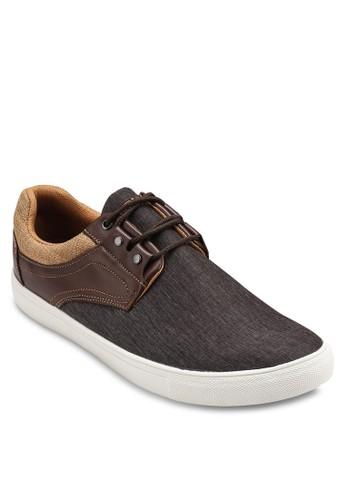 仿皮拼接繫esprit outlet 高雄帶休閒鞋, 鞋, 休閒鞋