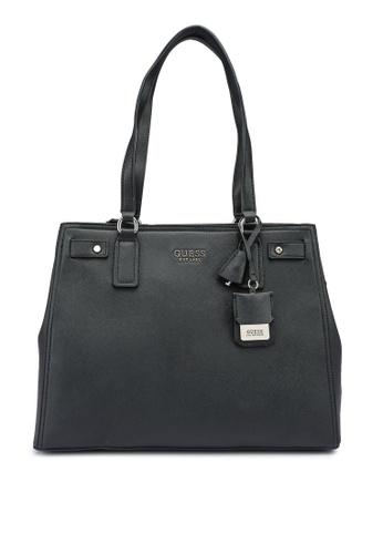 Guess black Georgiana Luxury Carryall Bag 777B3AC9457A9DGS_1