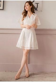 89777dbc0c 10% OFF Yoco Mesh Lace Detail Bodycon Dress RM 159.00 NOW RM 142.90 Sizes S  M L