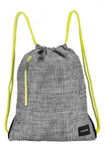 Nixon grey Nixon - Everyday Cinch Bag - Grey/Lime (C24291510) NI855AC95TCYSG_1